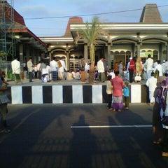 Photo taken at Masjid Agung Baitussalam by Zie'zee F. on 10/25/2012
