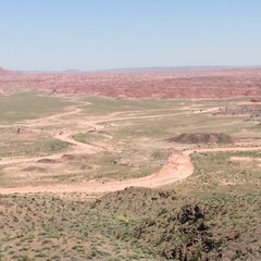 Photo taken at Painted Desert by Melissa B. on 6/18/2015