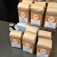 Photo taken at Ristretto Roasters by Andrew C. on 10/28/2012