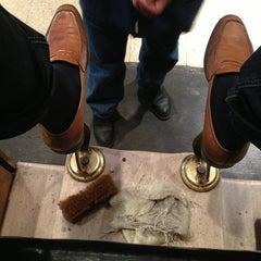 Photo taken at Jim's Shoe Repair by Matthew H. on 4/5/2013