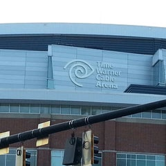 Photo taken at Time Warner Cable Arena by Cortez M. on 3/23/2013