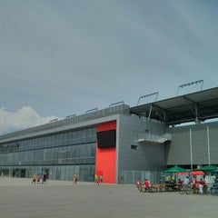 Photo taken at Audi Sportpark by Andreas G. on 7/26/2014