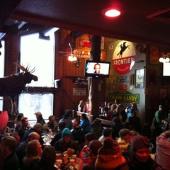 Photo taken at Mangy Moose Restaurant and Saloon by D R. on 2/17/2013