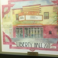 Photo taken at Liberty Hall by Chris M. on 9/14/2014