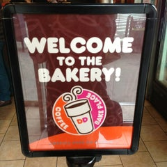 Photo taken at Dunkin Donuts by Dilek K. on 2/19/2013