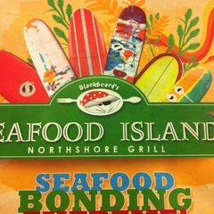 Photo taken at Blackbeard's Seafood Island by Joeserry H. on 2/13/2013