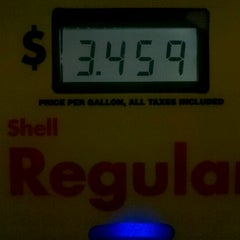 Photo taken at Shell by Johnathan W. on 10/4/2012