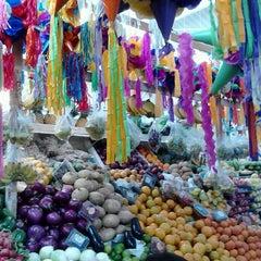 Photo taken at Mercado La Cruz by Diana Y. on 3/2/2013