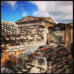 Photo taken at St. Louis Cemetery No. 1 by Katie C. on 10/5/2013