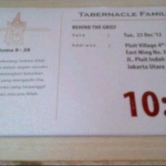 Photo taken at Gereja Kemah Tabernakel (Tabernacle Family) by firda on 12/25/2012