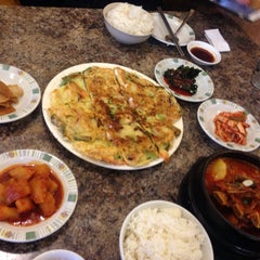Photo taken at Kim Baek Korean Restaurant by Wendy Q. on 2/12/2015