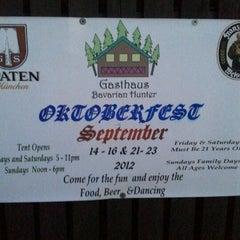 Photo taken at Gasthaus Bavarian Hunter by Mel F. on 9/15/2012