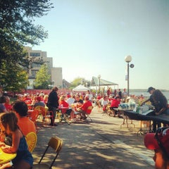 Photo taken at Memorial Union Terrace by Neil K. on 9/15/2012