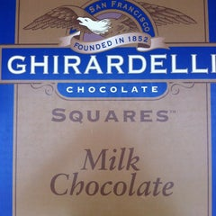 Photo taken at Ghirardelli Soda Fountain & Chocolate Shop by Jacky L. on 2/27/2013