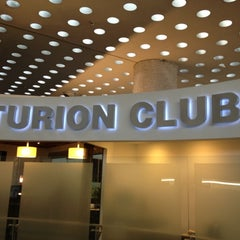 Photo taken at The Centurion Lounge by American Express by Marco M. on 10/28/2012