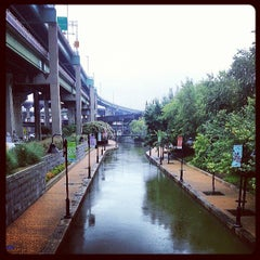 Photo taken at Canal Walk by Matthew D. on 8/1/2013