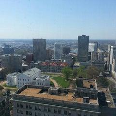 Photo taken at Richmond City Hall by Matthew D. on 4/10/2013