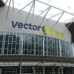 Photo taken at Vector Arena by Shaun H. on 11/23/2012