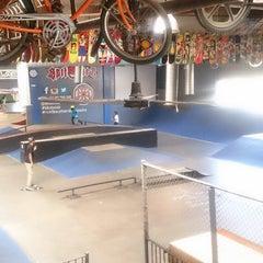 Photo taken at Skatelab Skatepark by Aimee J. on 11/16/2014