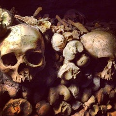 Photo taken at Catacombes de Paris by Marko I. on 4/22/2013