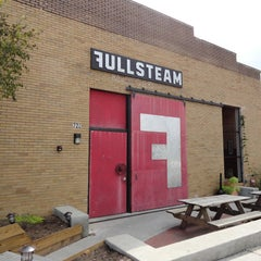 Photo taken at Fullsteam Brewery by Kim A. on 11/28/2012