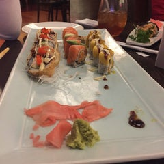 Photo taken at Hayashi Sushi & Grill by Baldheadqueen on 4/25/2015