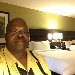 Photo taken at Hilton Garden Inn Houston Northwest by John O. on 8/8/2015