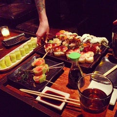 Photo taken at Ronin Sushi Bar by Andrew F. on 3/1/2013