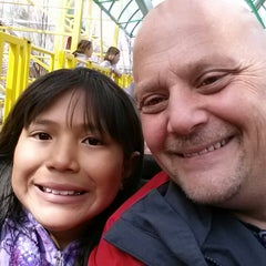 Photo taken at Wild Mouse by Bryan A. on 4/14/2013