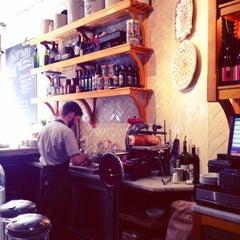 Photo taken at Gottino Enoteca Salumeria by Red P. on 2/25/2013