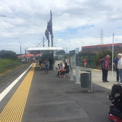 Photo taken at Onehunga Train Station by Darren D. on 11/22/2014
