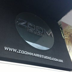 Photo taken at Zoom Hair Studio by Felipe Figueiredo M. on 4/5/2013