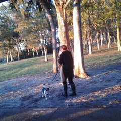 Photo taken at John Chesnut Park by Dominic P. on 11/8/2012