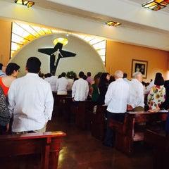 Photo taken at Parroquia Sta. María Madre de la Misericordia by Jorge P. on 9/12/2015