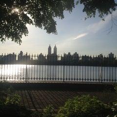 Photo taken at Central Park Duck Pond by Valeri E. on 6/5/2013