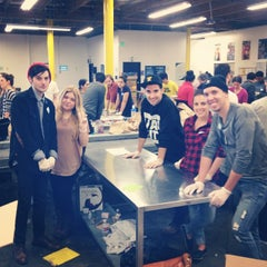 Photo taken at Los Angeles Regional Foodbank by Melody D. on 12/14/2013