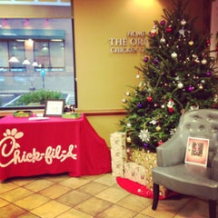 Photo taken at Chick-fil-A by Katie C. on 12/15/2012