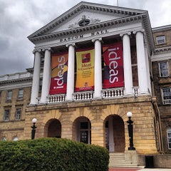 Photo taken at Bascom Hall by Patrick S. on 4/27/2013