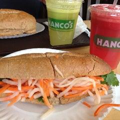 Photo taken at Hanco's Bubble Tea & Vietnamese Sandwich by Roque C. on 7/15/2013