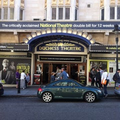 Photo taken at Duchess Theatre by Mark G. on 6/4/2013