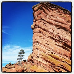 Photo taken at Red Rocks Park & Amphitheatre by Eugene K. on 2/19/2013