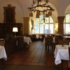Photo taken at Jagdschloss Grunewald by Florian W. on 2/21/2013