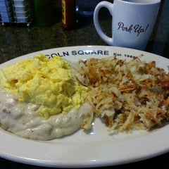 Photo taken at Lincoln Square Pancake House - 56th St. by Jay B. on 4/27/2014