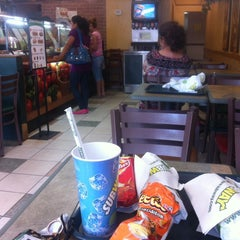 Photo taken at Subway by Mariela L. on 8/19/2014