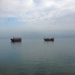 Photo taken at Sea of Galilee - Kinneret (כנרת) by Johnny H. on 2/17/2013
