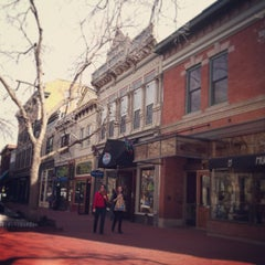 Photo taken at Pearl Street Mall by Nicoletta D. on 3/3/2013