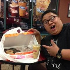 Photo taken at Dunkin' Donuts by Aldrich S. on 11/4/2012