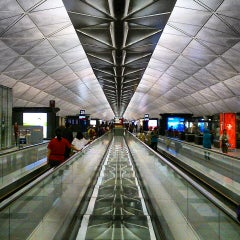 Photo taken at Hong Kong International Airport 香港國際機場 (HKG) by Stephen T. on 7/27/2013