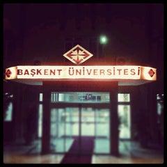Photo taken at Başkent Üniversitesi by Alper T. on 11/2/2012