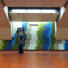 Photo taken at 16th St. Mission BART Station by Ashley V. on 10/13/2012